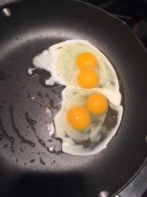 Double Egg Yolks